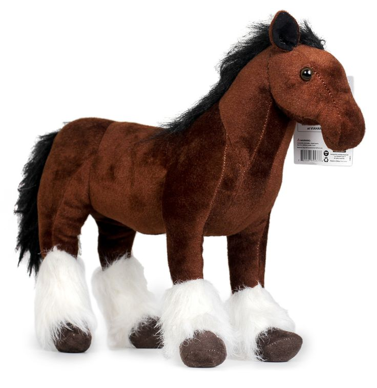 Charmaine the Shire Horse | 18 Inch Large Shire Horse Stuffed Animal Plush  Pony | By Tiger Tale Toys - VIAHART | Awesome Products. Amazing Prices.™