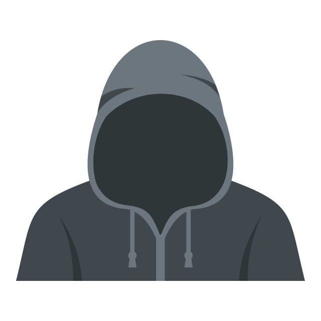 Figure In A Hoodie Icon Isolated Human Clipart A Icons In Icons Png And Vector With Transparent Background For Free Download Hoodie Icon Instagram Logo Person Icon