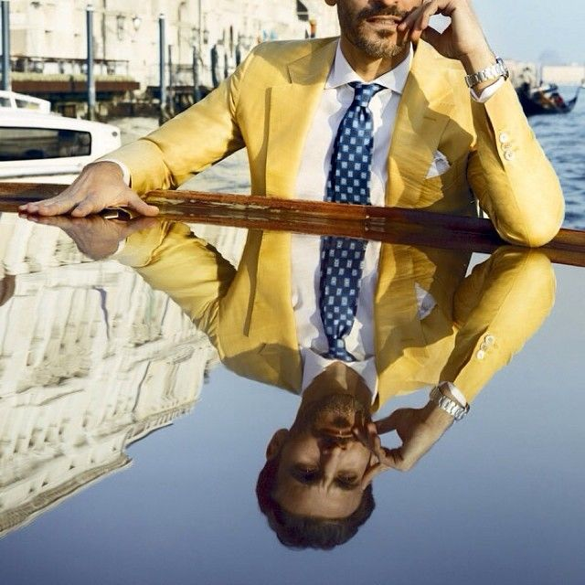 Yellow..the next level!! Follow our Street on @gentlemenofthestreet for more Gent's Style guidance! Walk with Style !! #gentlemenofthestreet #GOTS #walkwithstyle #style #stile #stylish #menstyle #menswear #mensfashion #yellow #blazer #suit #bespoke #gentsstyle #guide #summer #venice #italy #malemodel #lovestyle #lovefashion #instastyle #instagents #nextlevel #fashion #details