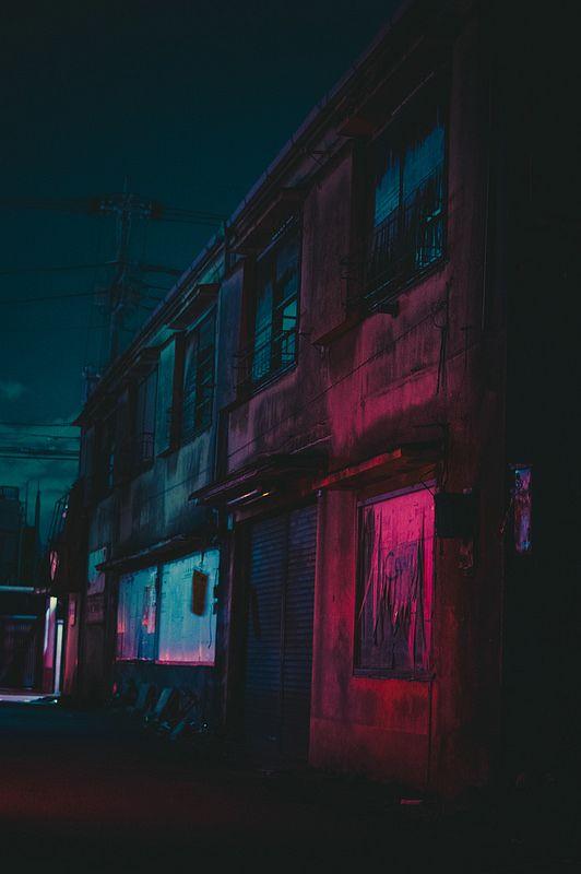 Neon Bedroom Aesthetic Red