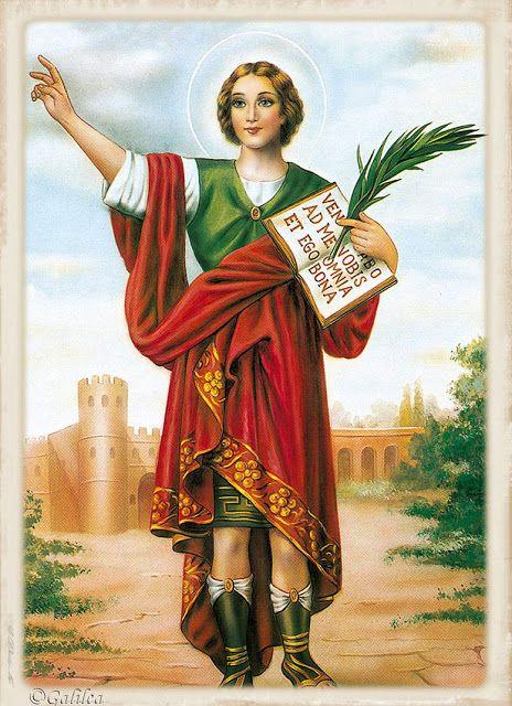 Santa María, Madre de Dios y Madre nuestra: San Pancracio, 12 de Mayo