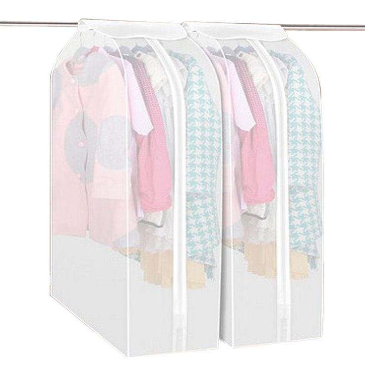 2017 Nueva Bolsa de Almacenamiento de Ropa de Prendas de vestir Traje de Capa Protectora Cubierta de Polvo Bolsas De Almacenamiento De Vestuario Para Organización de Ropa Para el Hogar