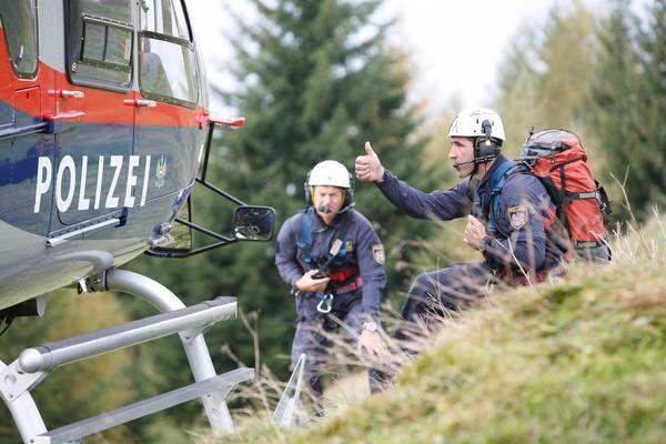 Spital am Pyhrn: Erschöpfter Bergsteiger (55) mit Polizeihubschrauber gerettet