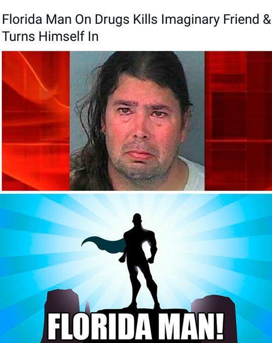 Florida Man Strikes Again