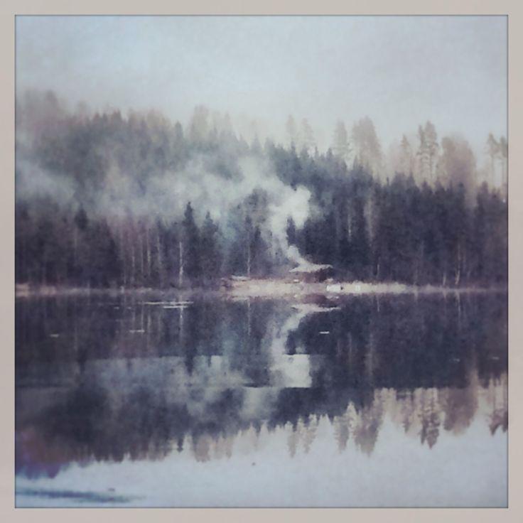 Finnish sauna in Sweden.