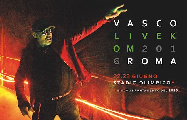 UNICO APPUNTAMENTO DEL 2016 LIVE KOM , il brand che da qualche anno contraddistingue i concerti da stadio di Vasco Rossi, prosegue per la sua sesta ...