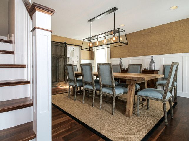 Captivating Table And Lighting Are From Restoration Hardware. Chairs Are From World  Market. Redstart Construction. | { Dining Room } | Pinterest