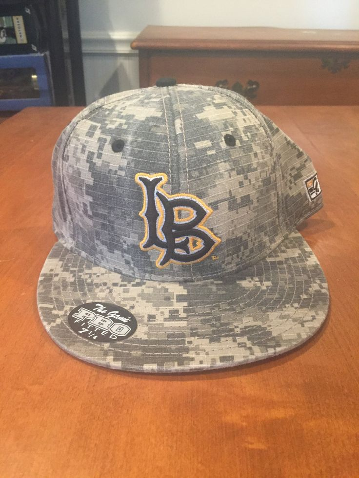 Long Beach State Dirtbags Fitted Baseball Hat by The Game NWT size 7 1/4 NCAA