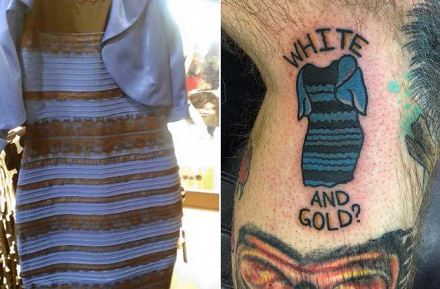 Nekem ez még mindig arany és fehér... http://www.nlcafe.hu/oltozkodjunk/20150302/tetovalas-kek-fekete-ruha/