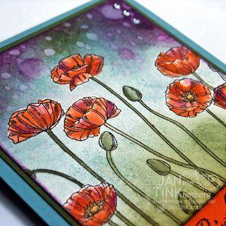 Fab Friday Challenge Blog - Challenge 44 - Pleasant Poppies