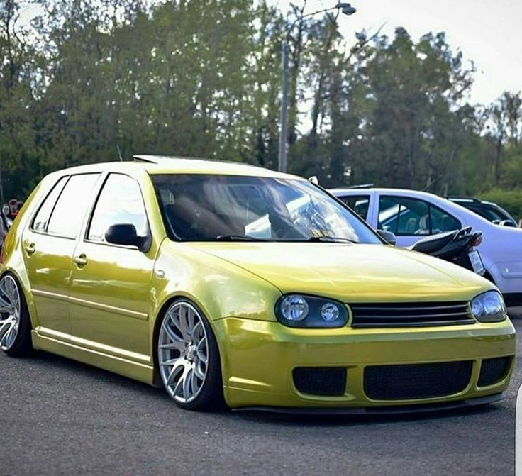 Lowered Mk4 R32