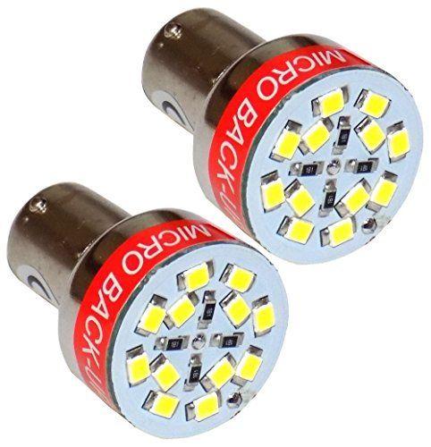 AERZETIX: 2x Ampoule sonore P21W 12V pour marche arrière feu de recul bip-bip: Lot de 2 ampoules sonores P21W 12V pour marche arrière feu…