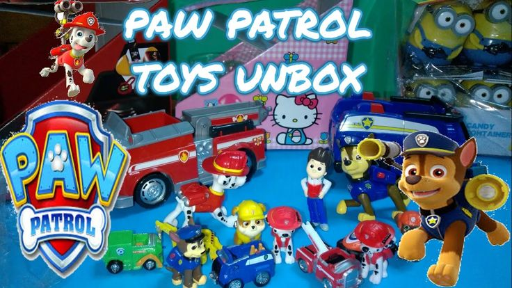 PAW PATROL TOYS UNBOX! CHASE, MARSHALL, RIDER, ZUMA, ROCKY, RUBBLE, SKYE...