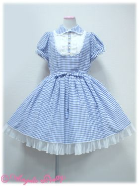 Whip Gingham OP in red. Asking $70 up for offers.
