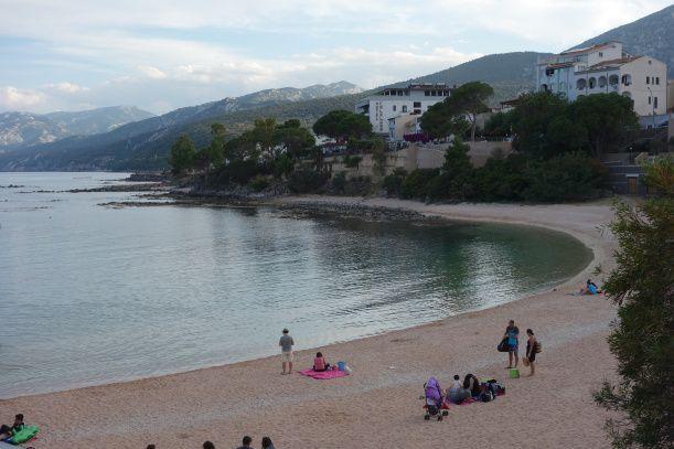Cala Gonone central beach, Cala Gonone, Sardinia