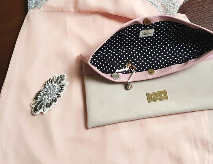 Be feminine, beautiful, sexy...Featuring a pink-beige clutch. Shop at http://vilmaboutique.com .