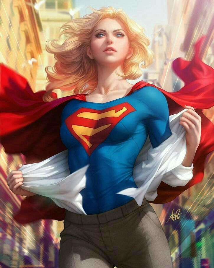 Blonde superheroines