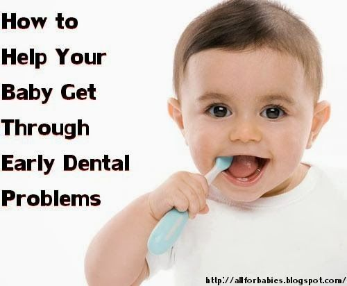 how to help baby teeth come through