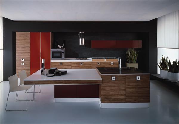 bordeaux kitchen cabinet with italian design