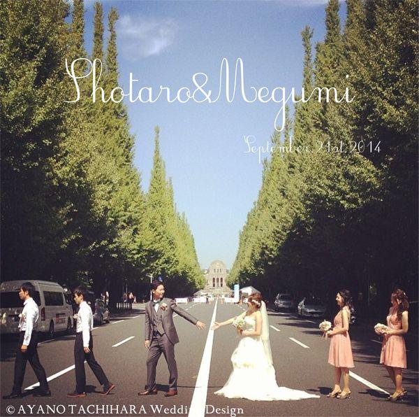 Tokyo Wedding_produced by AYANO TACHIHARA Wedding Design 東京ウエディング、邸宅ウエディング、外苑前