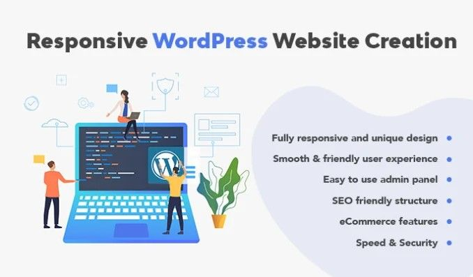 Revoumar I Will Create Wordpress Website With Responsive Web Design For 95 On Fiverr Com Create Wordpress Website Web Design Wordpress Website