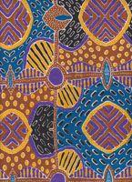 Kerringke Art Teatowel (Brown) Cotton - 50cm x 66cm Code: TT-KA/Brwn Price: $7.50 or 2 for $14.00
