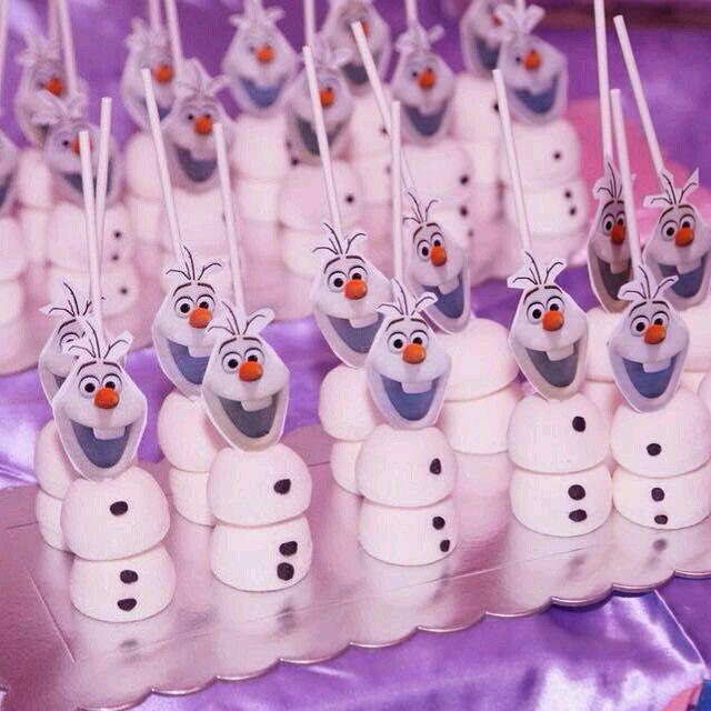 Fiesta temática de frozen fiebre congelada