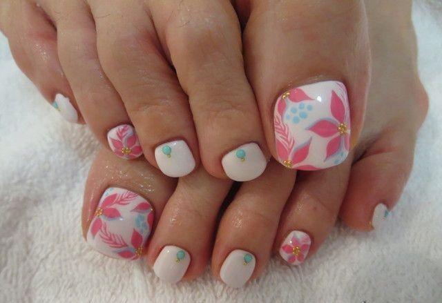 Afbeeldingsresultaat voor decoracion de uñas de los pies