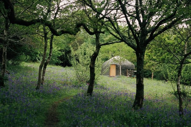 I would love to stay in this Yurt in Cornwall one day, they look so peaceful.