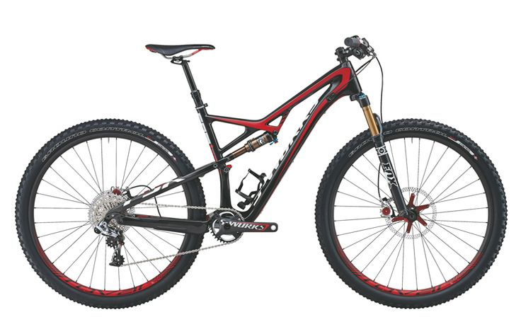 2014 Specialized S-Works Camber Carbon 29er Mountain Bike