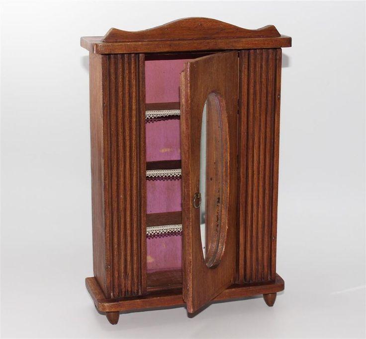 Puppenstube Wohnzimmer Jugendstil Grnderzeit Vertiko Klavier Anrichte Sofa 1900