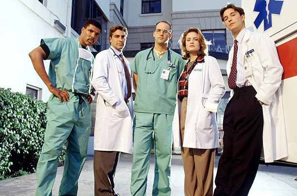 Another of my favourite shows, E.R. Watched it from beginning to end. Great TV!