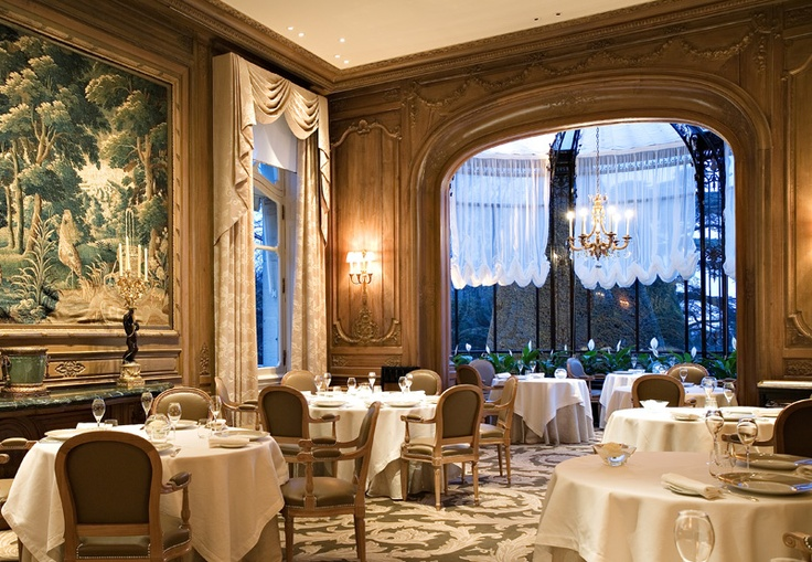 Les Crayeres dining room - been there twice - fantastic food and service.
