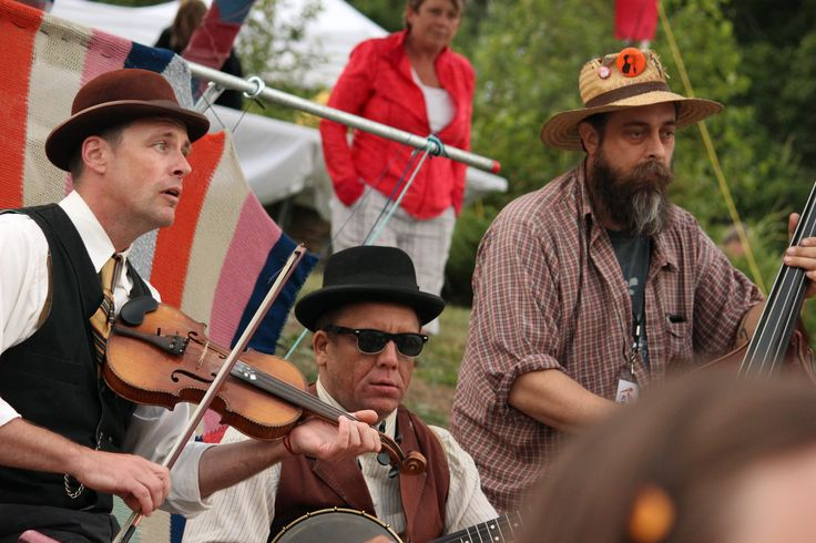 NLFB Artistic Director, Paul Loewenberg, (On the right) often steps up to jam.