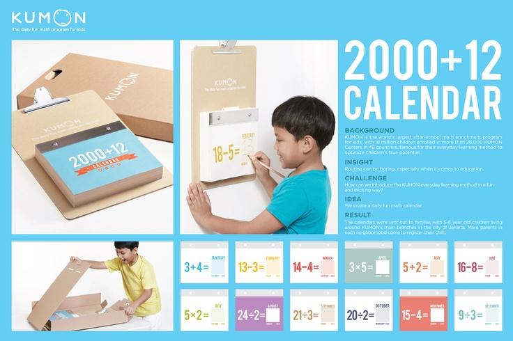 KUMON: Daily Fun Math Calendar