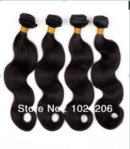 virgin hair product brazilian virgin hair extension body wave 1 pcs Grade 5A 100%Unprocessed human hair free shipping 3boundle $31.69 - 72.89