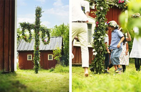 This past weekend was Midsummer celebration in Sweden. Swedes celebrate by heading out to the country and spending time with friends and family over food and drinks.
