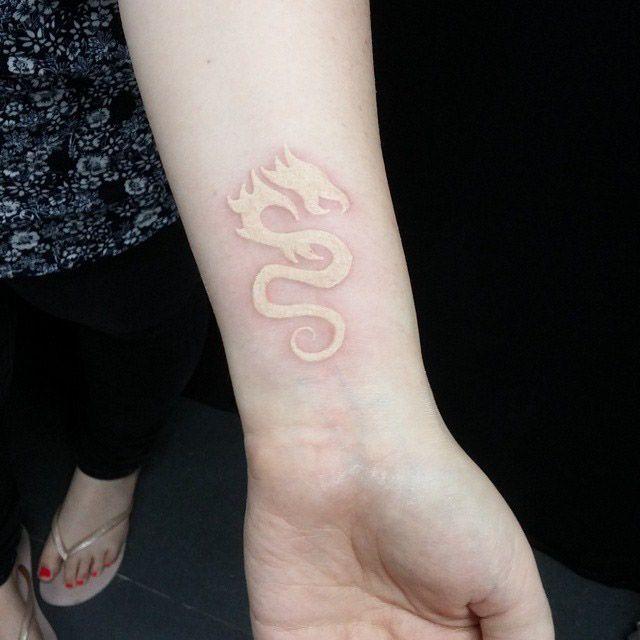 White Dragon Tattoo Best Tattoo Ideas Gallery White Dragon