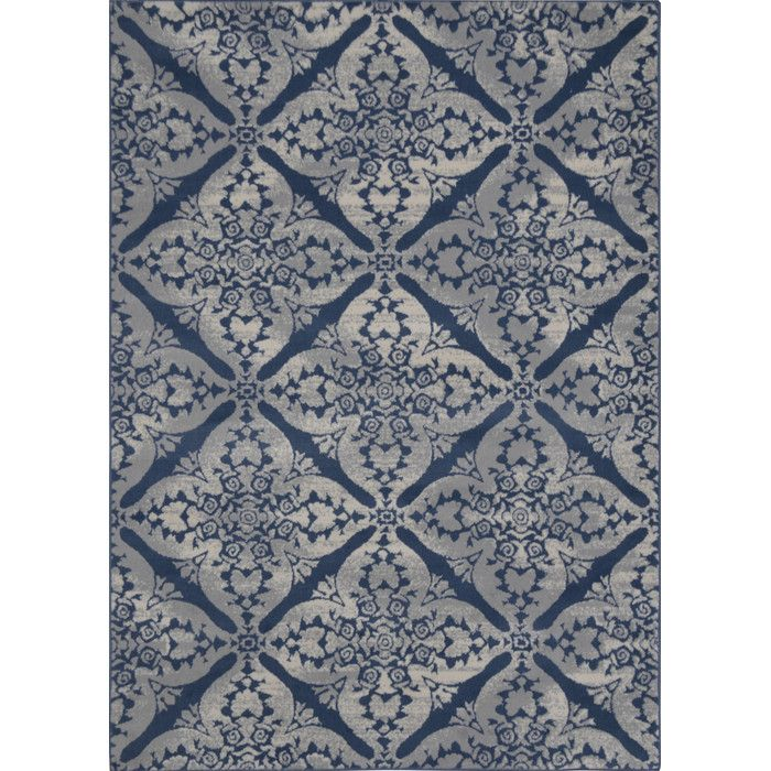 Andover Mills Blue/Gray Area Rug & Reviews | Wayfair