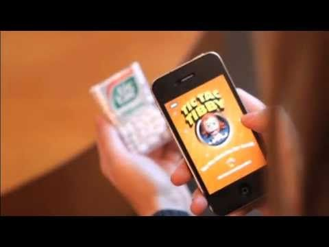 """TicTac """"shake it up"""" campaign, using Augmented reality"""