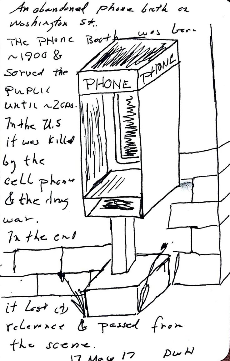 This caught my eye this morning.  The phone booth was iconic from the 1940's through the 1990's.  In America they were mostly blue and silver while in the United Kingdom they were red as befitting their role in the Royal Mail Service.  In the end the cell phone provided a better product and the anonymity they provided drug dealers created another negative.  Ultimately they died from disuse.