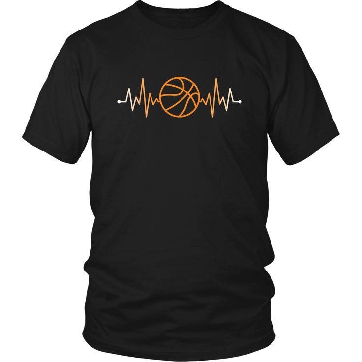 show how proud basketball fan you are wearing basketball rhythm basketball pulse tee or hoodie - Basketball T Shirt Design Ideas