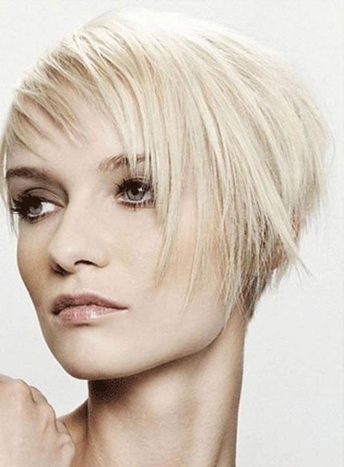 Die Letzte Kurze Trendige Frisuren Für Feines Haar Frisur