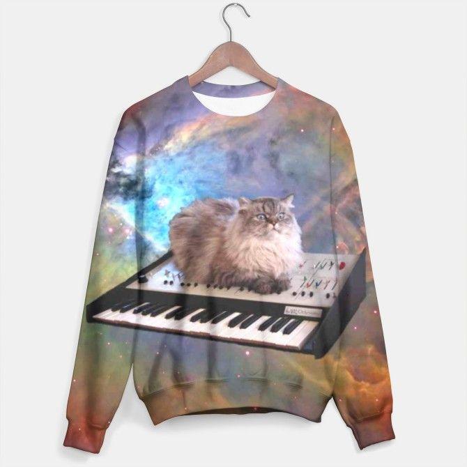 Space Cat sweater