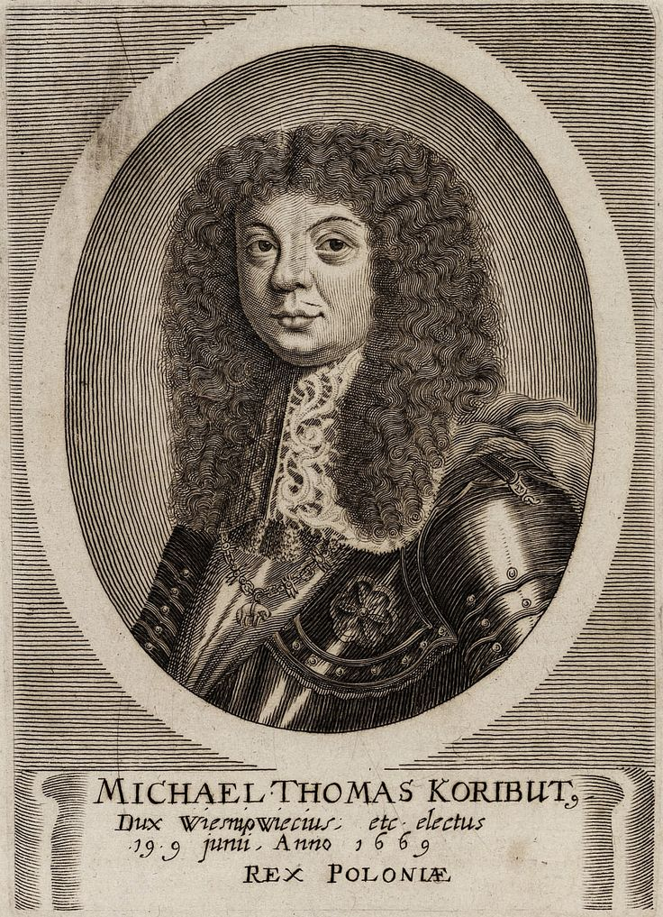 King Michael Korybut Wiśniowiecki by Caspar Merian, after 1669 (PD-art/old), Royal Collection Trust