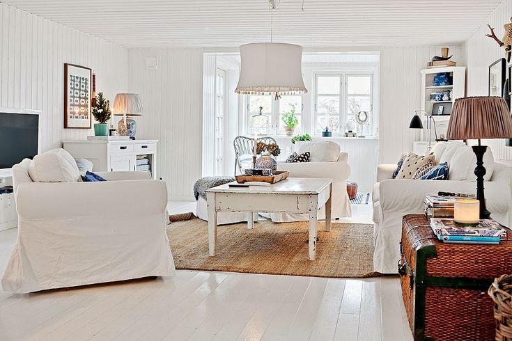 La belleza del blanco en una casa nórdica   Bohemian and Chic