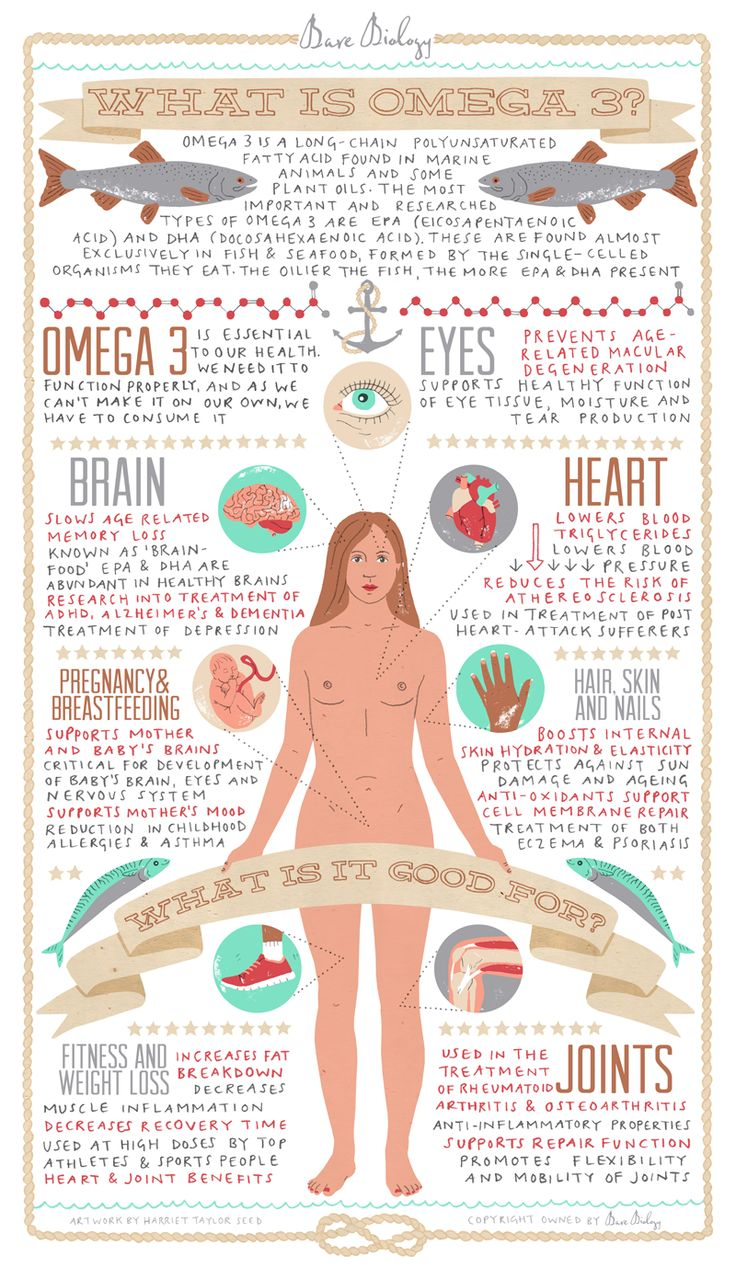 What is Omega 3 - Infographic | Bare Biology