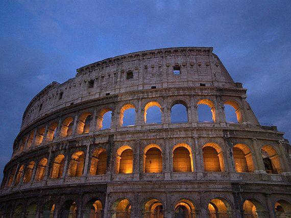 Canvas Print Art Colosseum di Edicom su Etsy