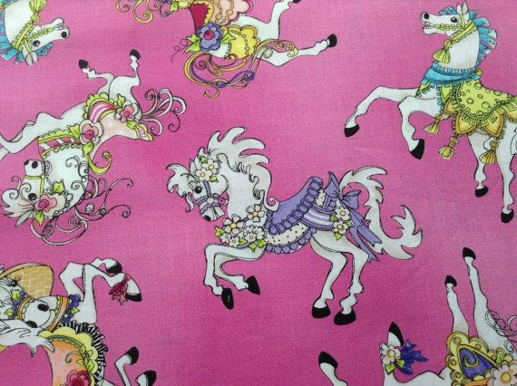 21 best kid 39 s stuff images on pinterest blanket for Horse fabric for kids