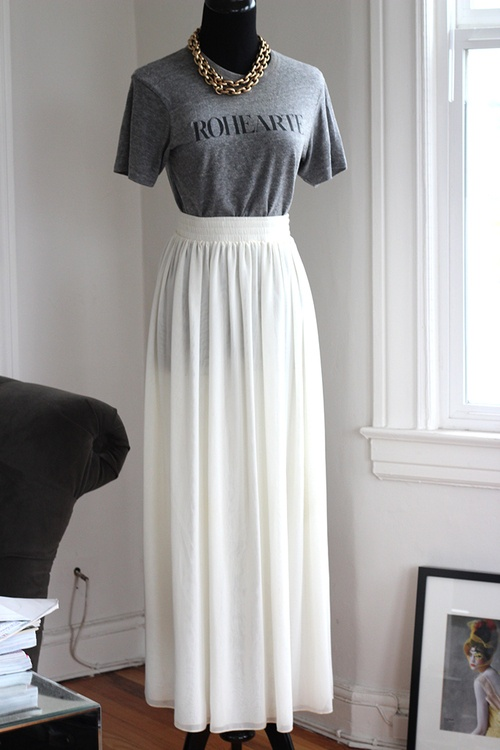 58 best images about long and white..(white maxi skirt) on ...